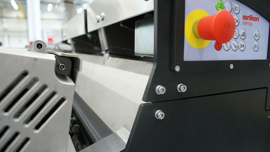 WinFors can be fitted under virtually every older spinning system. This makes the winder a perfect retrofit solution.
