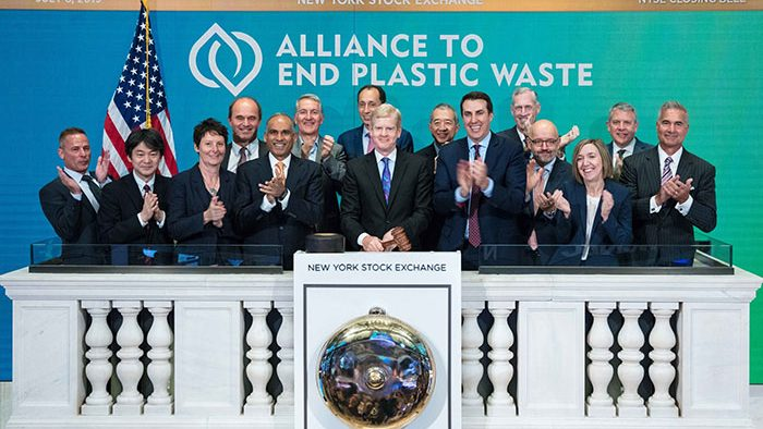 The Alliance to End Plastic Waste (AEPW) welcomed 12 new companies from the plastics value chain in 2019