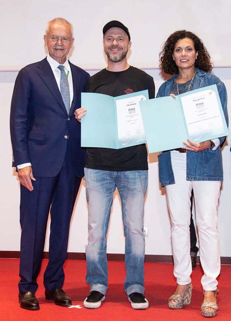 recipients 2019 ITMA sustainability award