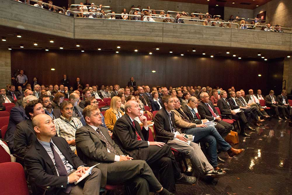 Dornbirn Man-Made Fibers Congress attendees