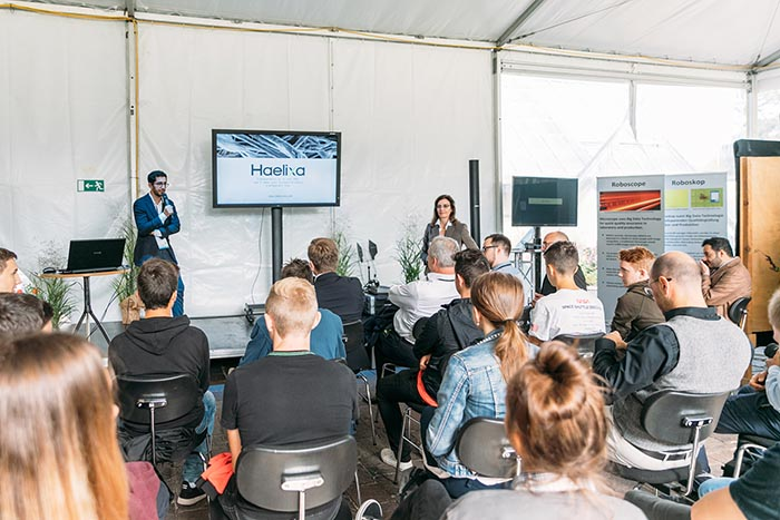 The Dornbirn-GFC Startup Days took place for the first time this year, where 25 startup companies had the opportunity of presenting their innovations to delegates.