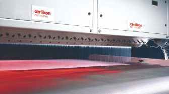 Oerlikon Nonwoven's meltblown technology