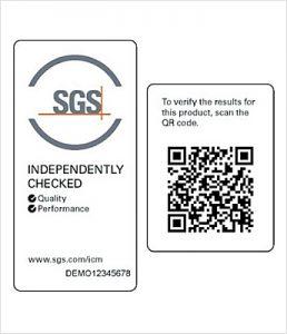 SGS Mark for Reuseable Facemasks