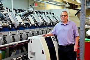 Don Rusch, Gaston College Textile Technology Center