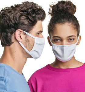 Hanes 3-Ply All-Cotton Mask