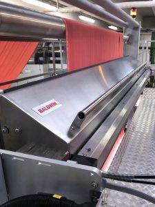 Baldwin G4 fabric finishing system