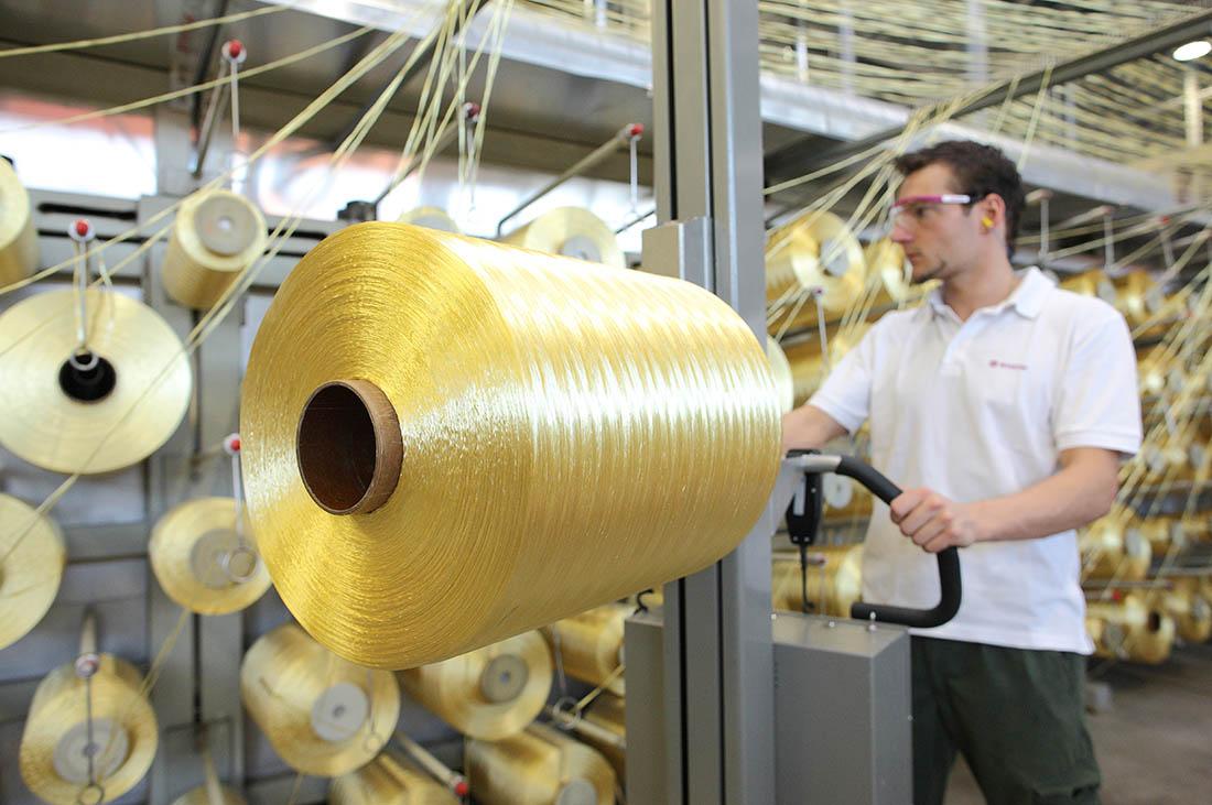 P84® HT polyimide fiber certified according to OEKO-TEX Standard 100