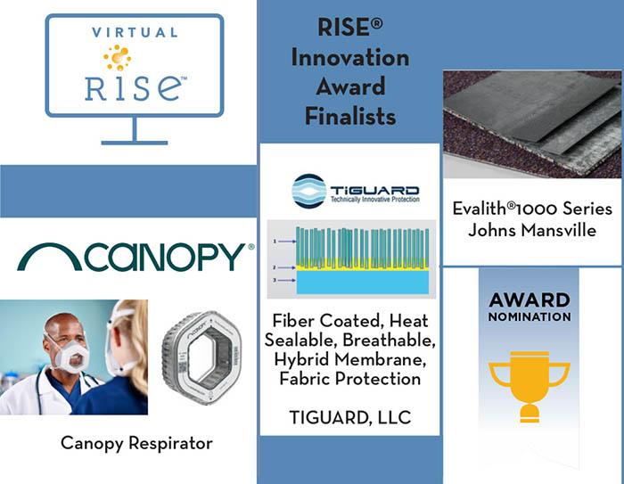 RISE 2021 Innovation Award finalists
