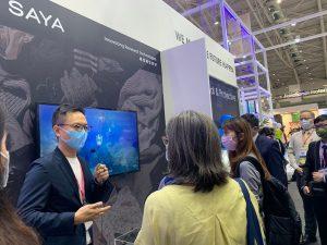 SAYA at Taipei Innovative Textile Application Show