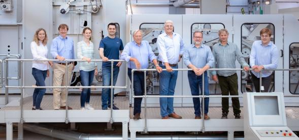 BFT/FVT team members in Tönisvorst, Germany