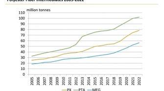 Polyester fiber intermediates 2005-2022
