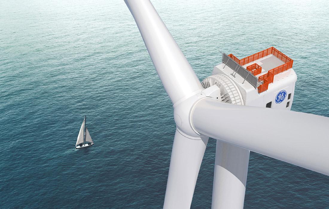 GE's Haliade-X 12 MW turbine