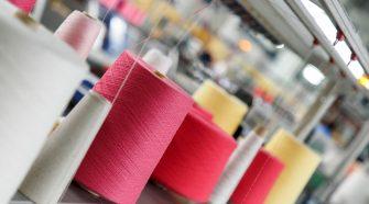 Colored yarn