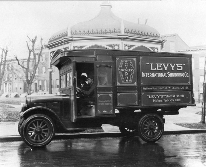 TSG Finishing got its start in 1901 as Levy's Water Shrinking and Drying