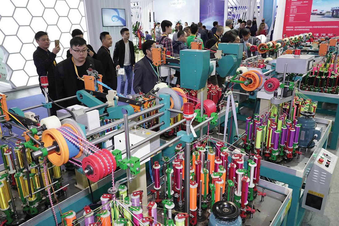 ITMA Asia + CITME show floor