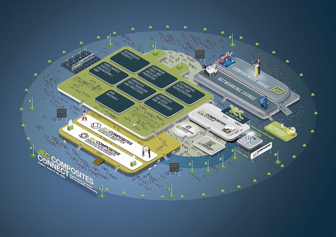 JEC Composites Connect all-virtual exhibition