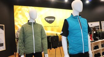 The odor absorption properties of Triporous outdoor apparel