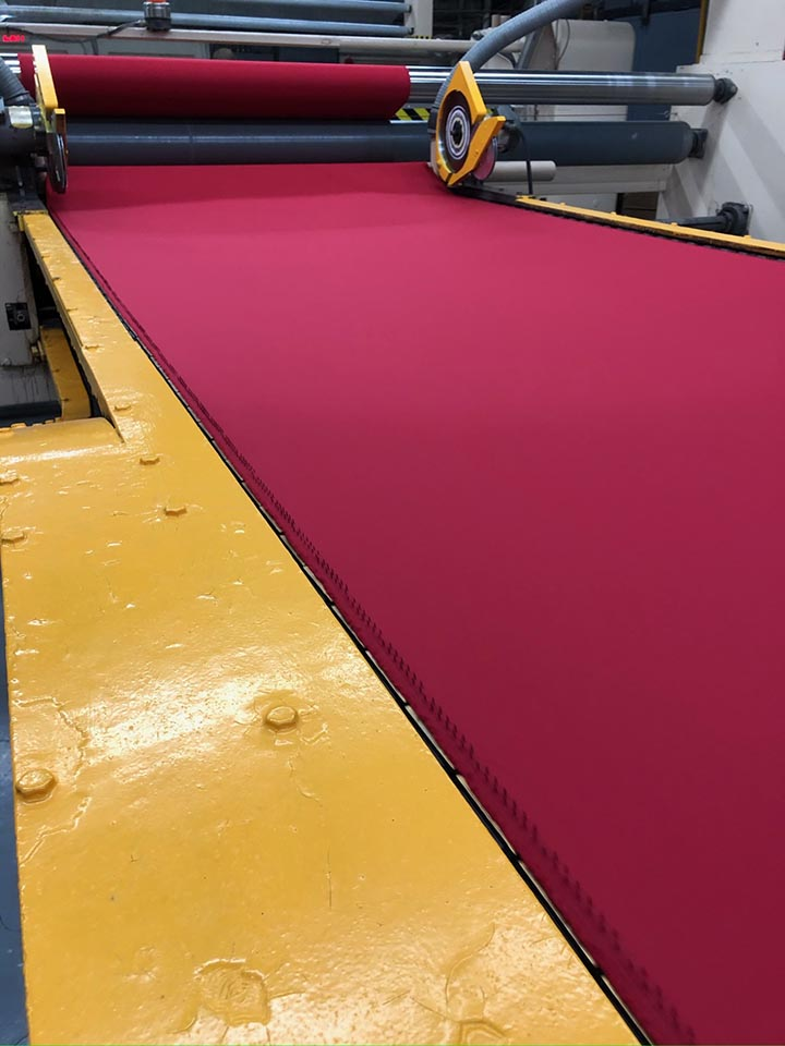Gehring is able to supply traditional fabrics for mainstream industries, but also to engineer custom fabric solutions.
