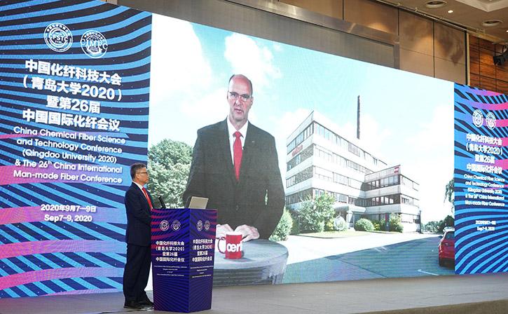 Georg Stausberg, CEO of Oerlikon Manmade Fibers segment