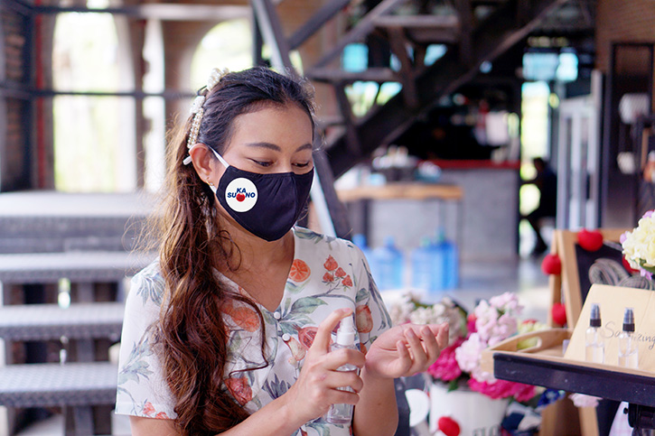 SUKANO's antiviral masterbatch technology can provide protection for PPE items like facemasks