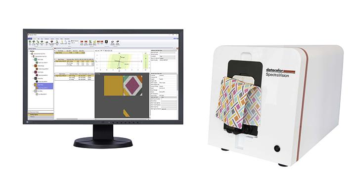 Sample digital color management software and equipment