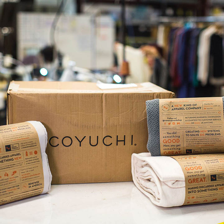 San Francisco home textile brand Coyuchi is among those working with the regeneration company