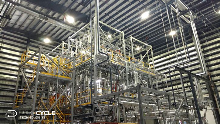 PureCycle Technologies started up a pilot plant in Ohio