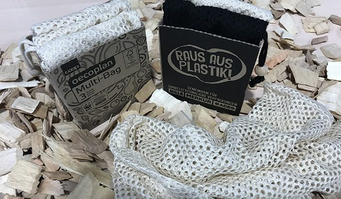 Packnatur reusable wood-based bag