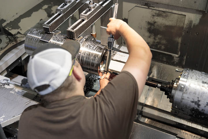 With critical machining, manufacturing and all assembly operations on-site, JOA maintains complete quality and process control.