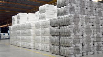 Bale wrapping using Durapack polypropylene packaging textiles from Beaulieu Technical Textiles