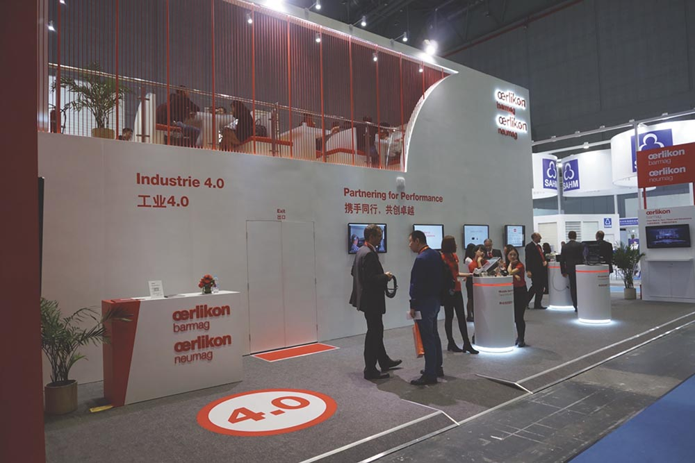 Oerlikon presents Industry 4.0 solutions at the ITMA ASIA + CITME 2016.