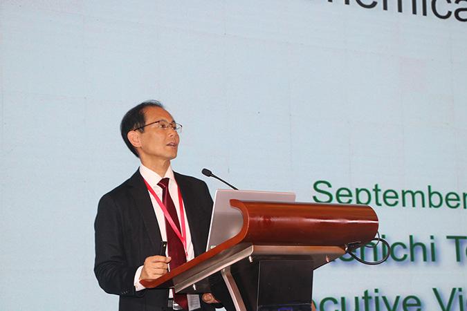 Kenichi Tomiyoshi, executive vice president of Japan Chemical Fibers Association (JCFA)