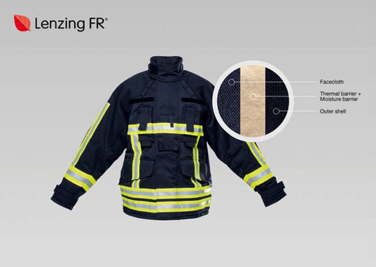 Lenzing FR®, a complete solution for firefighter clothing.