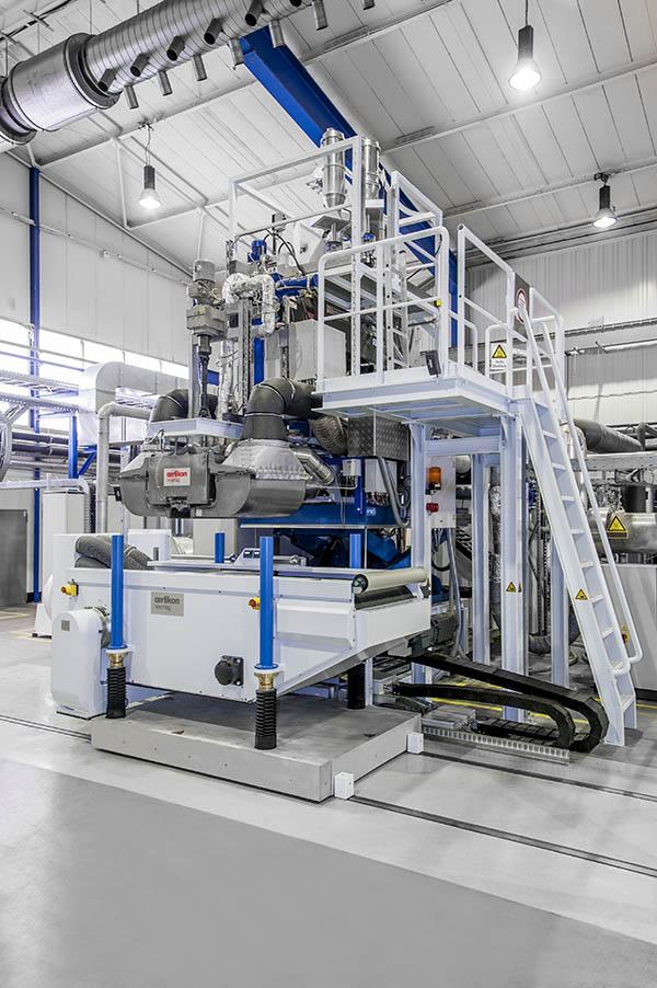 Oerlikon Neumag's meltblown pilot plant