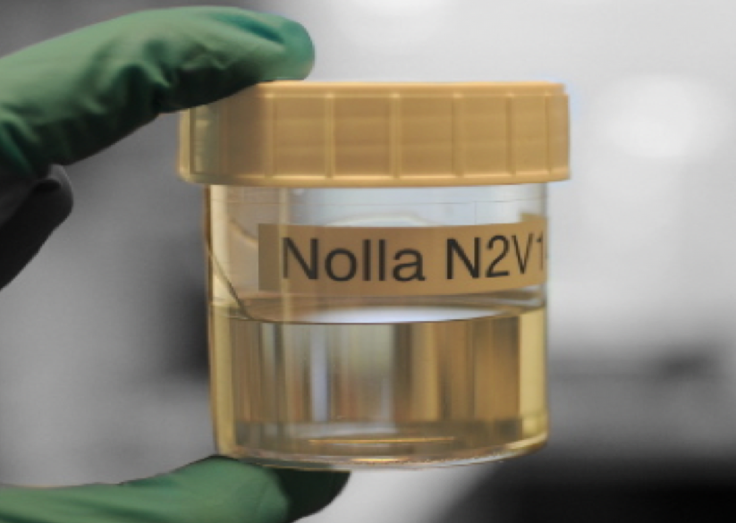 Nolla Silver Polymer: Crystal-clear liquid polymer contains 7,500 to 120,000 ppm of active silver and is highly effective against viruses, bacteria and fungi.