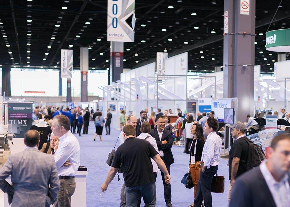Techtextil North America featured 167 exhibitors from 16 countries and more than 3,000 attendees.