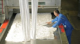 manmade fiber production