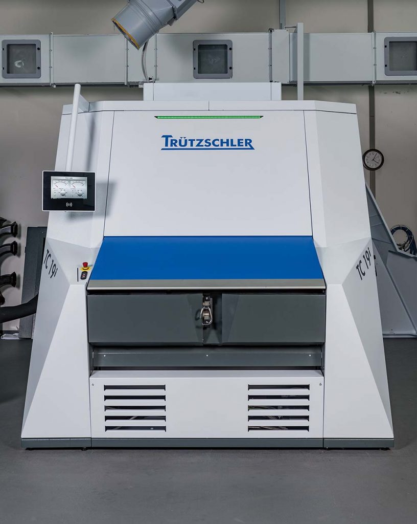 Trützschler TC 19i intelligent card
