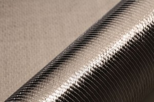 Carbon fibers are increasingly replacing strengthening steel in textile reinforced concrete.