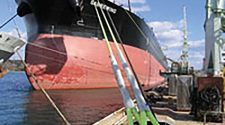 Super fibers can be used in ropes for ships